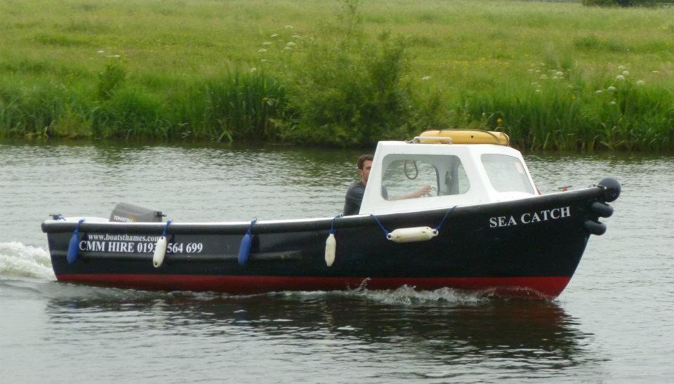 SEA CATCH 8 seater open boat